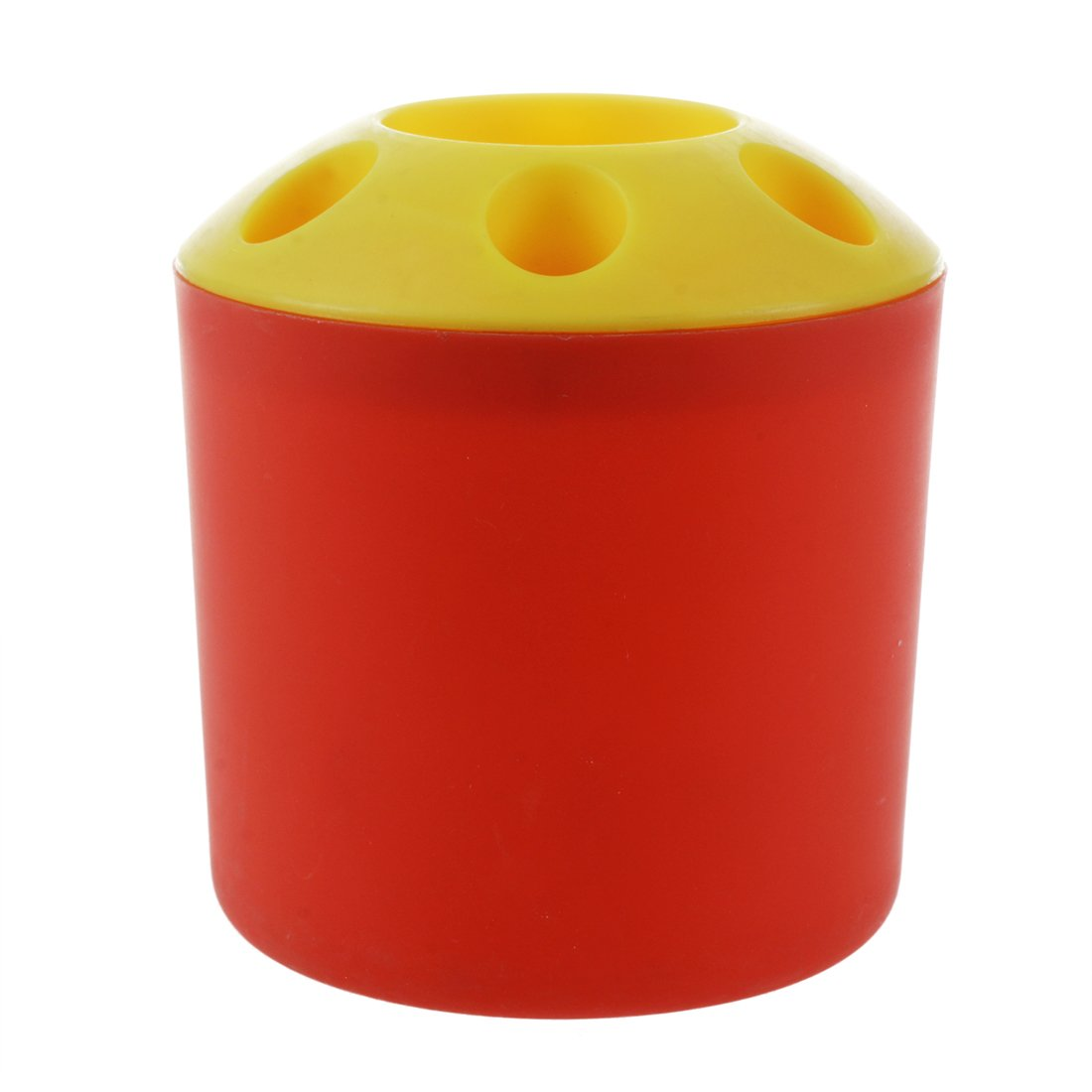 SODIAL(R) 1PCS Multifunctional 6 Holes Plastic Toothbrush Pen holder Storage Box£¨green£© LEPAZIK3684
