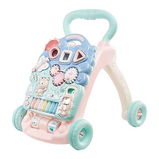 HUYP Baby Walker con Trolley De Música Juguetes para Niños De 6 A ...