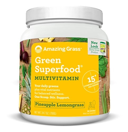 Amazing Grass Superfood Multivitamin Lemongrass