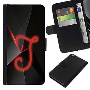 EJOY---La carpeta del tirón la caja de cuero de alta calidad de la PU Caso protector / HTC DESIRE 816 / --J