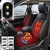 WARMITORY Heated Car Seat Cushion - Universial Car Seat Warmer with 3...