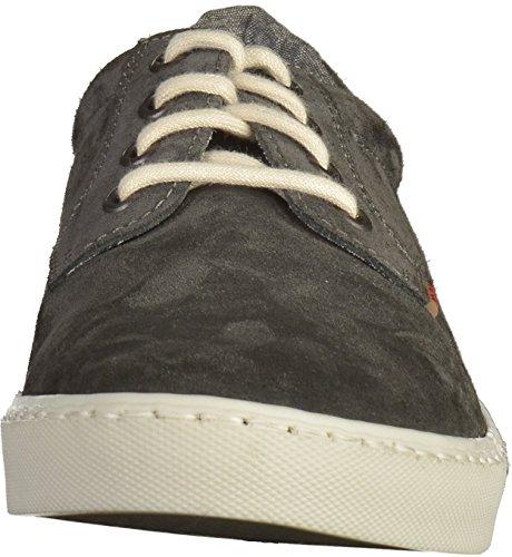 Rieker 19534, Zapatillas para Hombre Gris (Antracite/amaretto/chalk / 45)