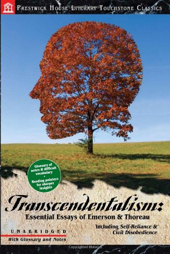 transcendentalism essential essays of emerson thoreau henry transcendentalism essential essays of emerson thoreau henry david thoreau and ralph waldo emerson 9781603890168 com books