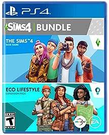 The Sims 4 Plus Eco Lifestyle Bundle - PlayStation 4