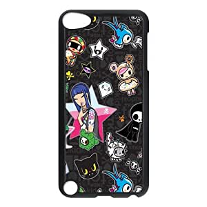 Custom Cartoon Back Cover Case for ipod Touch 5 JNIPOD5-242