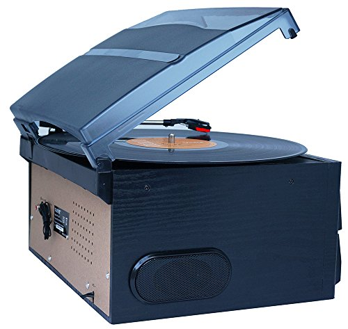Boytone BT-29B, Bluetooth Dual CD Player and Recorder CD2 to CD1, AM/FM Radio Turntable Record Player 2 Built-in Stereo Speakers, Cassette Player, SD Slot, USB, AUX, Headphone Jack, Limited Edition by Boytone (Image #4)