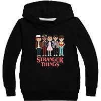 KIACIYA Sudadera Stranger Things Niñas, Sudadera Stranger Things con Capucha Niños Chicos y Chicas Deporte Casual…