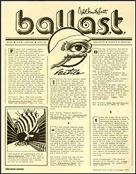 Ballast Quarterly Review Vol 1 No 1