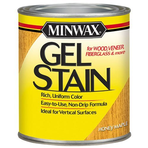 Minwax 66040000 Gel Stain , quart, Honey Maple