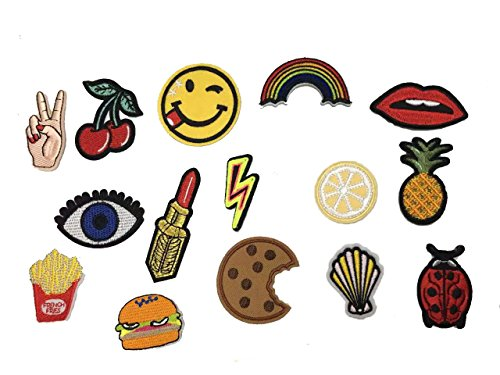 Applique Embroidered Patch Pineapple Hamburger product image