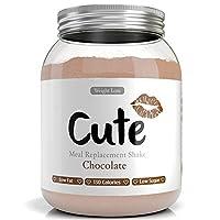 Milk-Shake/Smoothie Chocolat pour maigrir tout en restant en forme - Substitut de repas diététique sous forme de boisson en poudre hyperprotéinée basses calories - Guide pour perdre du poids offert