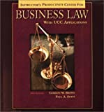 Business Law with UCC Applications, Gordon W. Brown, 0078210410