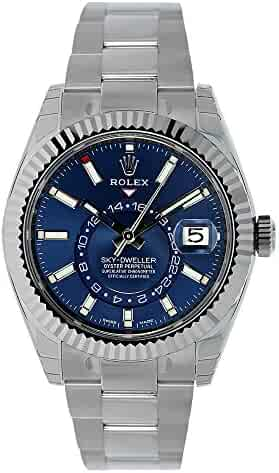 Rolex OYSTER PERPETUAL SKY-DWELLER Blue dial 326934