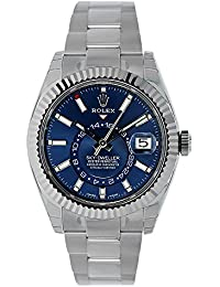 OYSTER PERPETUAL SKY-DWELLER Blue dial 326934