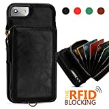 Best Wallet Cases With RFIDs - xhorizon FLK RFID Blocking Premium Leather Wallet Case Review