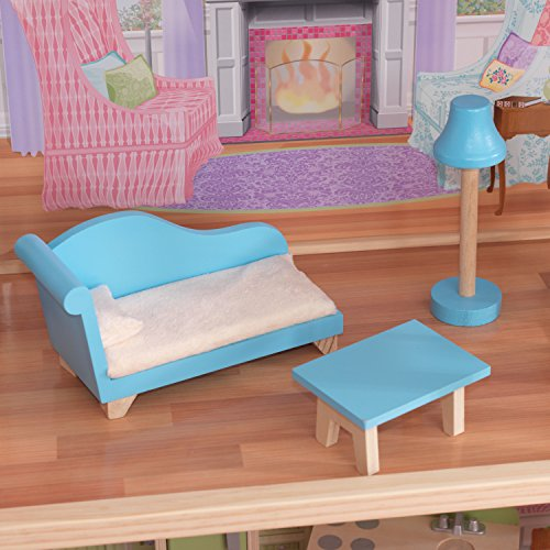 51435j0YH0L - KidKraft So Chic Dollhouse with Furniture