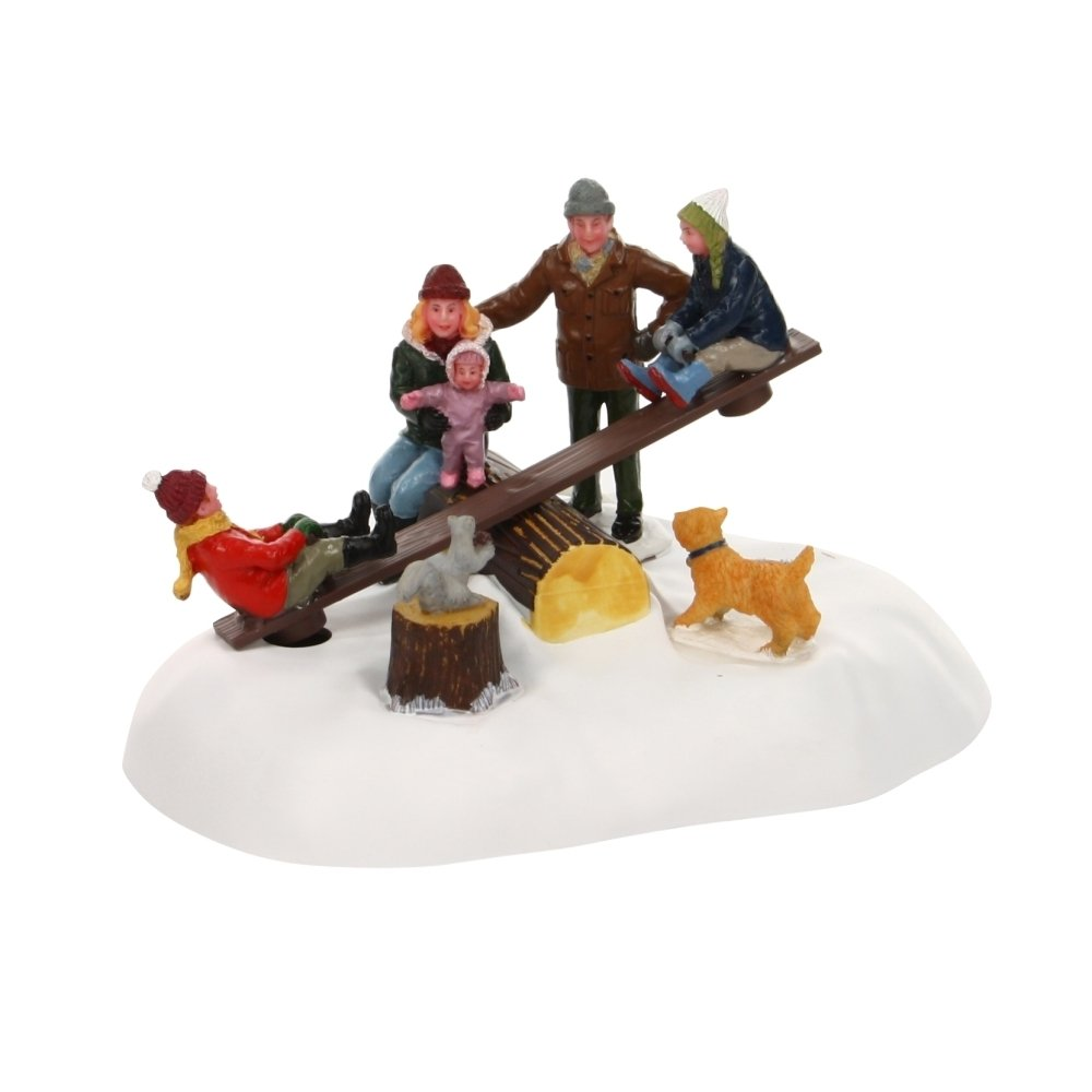 Lemax Village Collection See-Saw Battery Operated # 24486