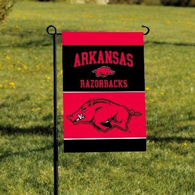 NCAA Double Sided Garden Banner NCAA: Arkansas Razorbacks