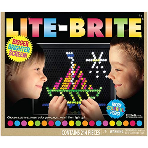 Basic Fun 2215 Lite-Brite Ultimate Classic, Multicolor