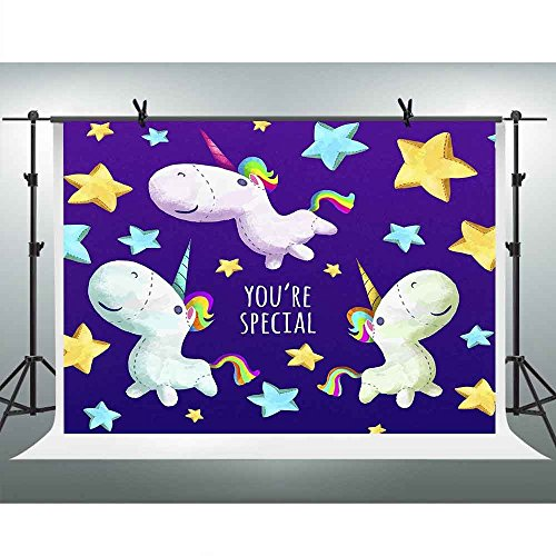 Girl Professional Puppet (FHZON 10x7ft Special You Photography Backdrops Cute Puppet Stars Background Children Baby Girl Newborn Birthday Party Photo Studio Props PFH525)
