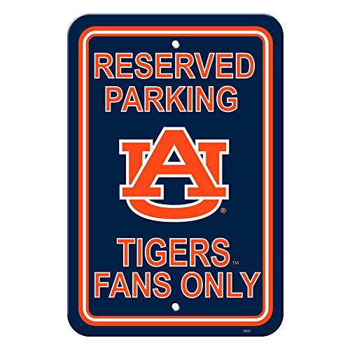 NCAA Official National Collegiate Athletic Association Fan Shop Authentic Parking Sign (Auburn ()