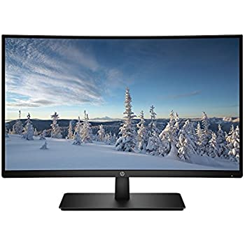 HP 27-inch FHD Curved Monitor (27b, Black)