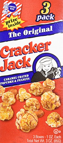 Cracker Jack The Original Popcorn, (6) 1oz boxes