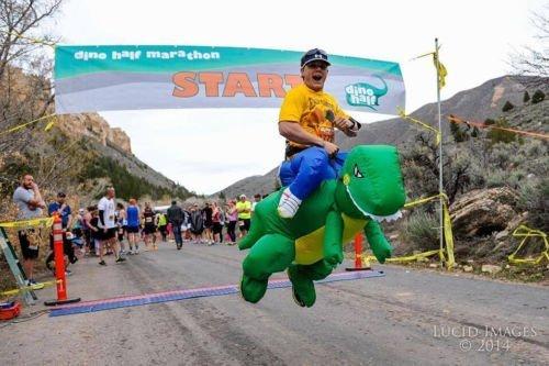 [BatterElec(TM) Cosplay Dinosaur Fan Fancy Dress Inflatable unisex Costume Horse MotorParty] (Fan Costumes)