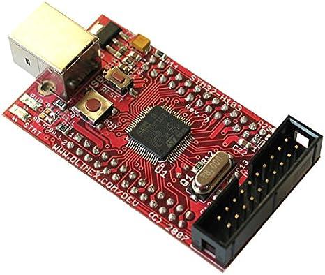 Development Boards  Kits ARM HDR BRD FO 1pcs STM32-H103 Olimex