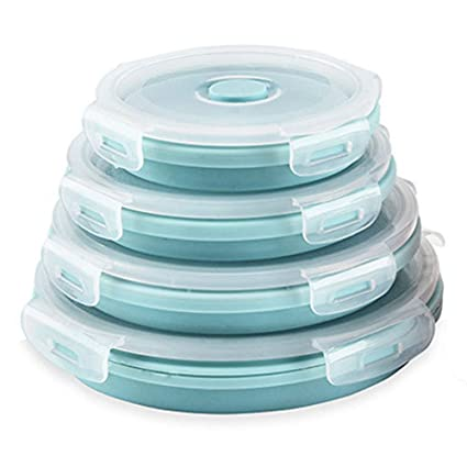 Silicone Collapsible Food Storage Containers