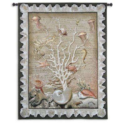Fine Art Tapestries ''Sea of Life'' Wall Tapestry