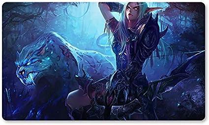 Warcraft54 – Juego de mesa de Warcraft tapete de mesa Wow juegos teclado Pad Tamaño 60 x 35 cm World of Warcraft Mousepad para Yugioh Pokemon MTG o TCG: Amazon.es: Oficina y papelería