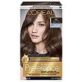 L'Oréal Paris Superior Preference Permanent Hair Color, 6C Cool Light Brown