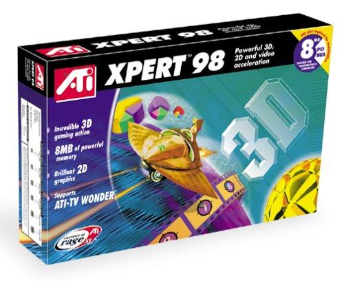 ATI Technologies Inc. PCI 8MB Xpert 98 2D/3D Accelerator for Windows 98