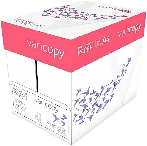 Xerox 003R93213 VariCopy - Papel para impresión, universal, DIN A4 80 gr./m², caja con 5 paquetes, 500 hojas, color blanco: Amazon.es: Oficina y papelería