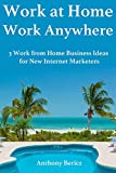 Work at Home, Work Anywhere: 3 Work from Home Business Ideas for New Internet Marketers