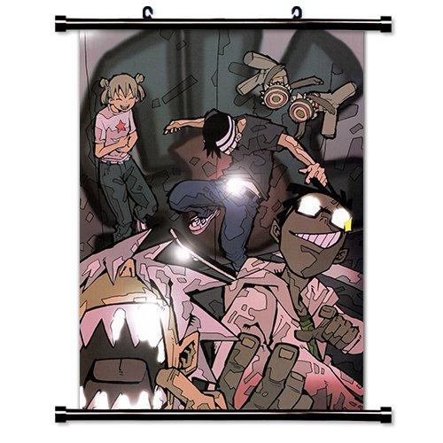 Soul Eater Fabric Wall Scroll Poster  Inches. -soul eater-39