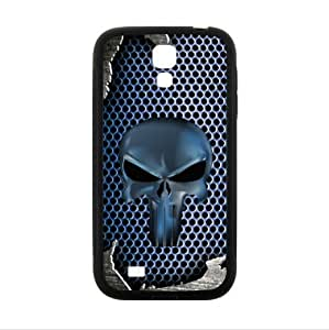Special Design Metal Pattern Punisher Skull PC and TPU (Laser Technology) cases for Samsung Galaxy S4 I9500