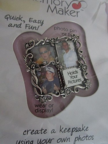 (Memory Maker - Photo Pin or Frame create a keepsake using your own photos)