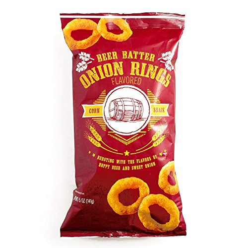 Beer-Battered Onion Rings 5 oz each (3 Items Per Order)