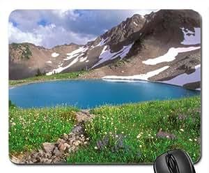 Alpine Park, Washington Mouse Pad, Mousepad (Mountains Mouse Pad)