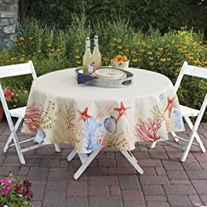 Better Homes And Gardens Sealife Tablecloth 70