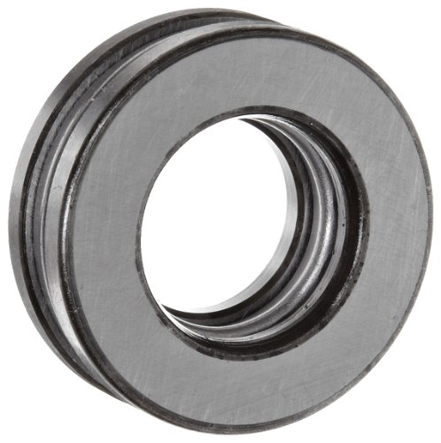 - FAG 51206 Grooved Race Thrust Bearing, Single Row, Open, 90° Contact Angle, Steel Cage, Metric, 30mm ID, 52mm OD, 16mm Width, 4800rpm Maximum Rotational Speed, 10600lbf Static Load Capacity, 5700lbf Dynamic Load Capacity