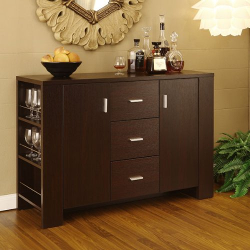 Sideboard 48 (247SHOPATHOME ID-11424 sideboards, Cappuccino)