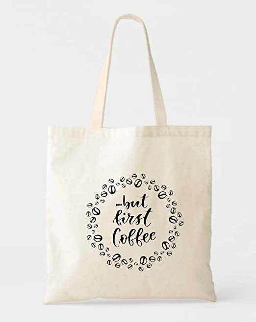 Canvas Travel Bag for Coffee Lovers