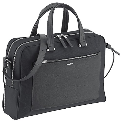 (Samsonite Briefcase, 42 cm, 15.5 Liters, Black 74557/1041)