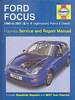 ford focus petrol and diesel 2001 2004 haynes service and repair rh amazon co uk 2004 ford focus zx3 owners manual 2004 ford focus owners manual