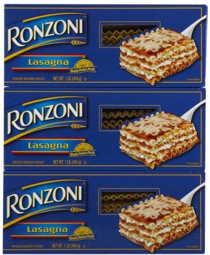 Ronzoni Lasagna Pasta 16 oz
