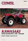 Kawasaki Atv Klf300 2wd And 4wd, 1986-2003 9780892878598