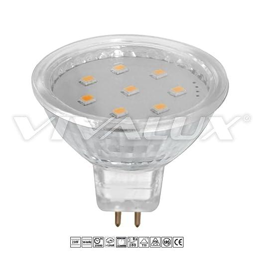 Vivalux Mobi bombilla LED, GX5.3 3 W, 230 V, 3000 K